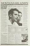 Montana Kaimin, September 2, 1993