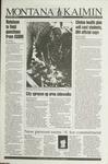 Montana Kaimin, September 29, 1993