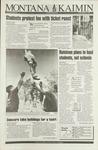 Montana Kaimin, October 1, 1993