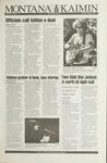 Montana Kaimin, October 5, 1993
