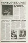 Montana Kaimin, October 15, 1993