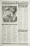 Montana Kaimin, October 22, 1993