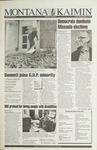Montana Kaimin, November 3, 1993