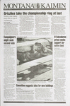 Montana Kaimin, November 9, 1993