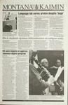 Montana Kaimin, November 10, 1993