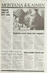 Montana Kaimin, December 7, 1993