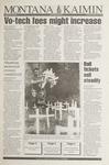 Montana Kaimin, January 25, 1994