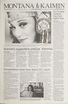 Montana Kaimin, March 29, 1994