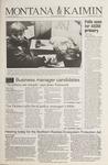 Montana Kaimin, April 12, 1994