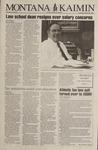 Montana Kaimin, August 30, 1994