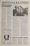 Montana Kaimin, October 14, 1994