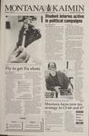 Montana Kaimin, November 2, 1994