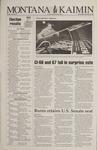 Montana Kaimin, November 9, 1994