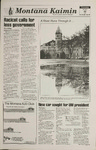 Montana Kaimin, January 12, 1995