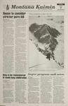 Montana Kaimin, January 13, 1995