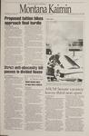 Montana Kaimin, January 18, 1995