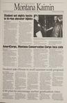Montana Kaimin, January 19, 1995