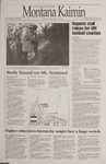 Montana Kaimin, January 20, 1995