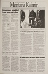 Montana Kaimin, January 25, 1995