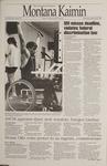 Montana Kaimin, January 26, 1995