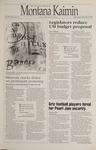 Montana Kaimin, February 8, 1995