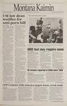Montana Kaimin, February 9, 1995