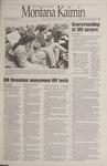Montana Kaimin, February 15, 1995
