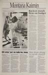 Montana Kaimin, February 22, 1995