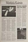 Montana Kaimin, April 4, 1995