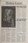 Montana Kaimin, April 5, 1995