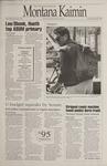 Montana Kaimin, April 14, 1995