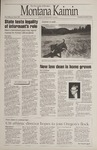 Montana Kaimin, April 18, 1995