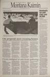 Montana Kaimin, April 19, 1995