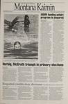Montana Kaimin, September 13, 1995