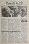 Montana Kaimin, September 29, 1995