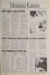 Montana Kaimin, October 26, 1995