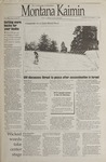 Montana Kaimin, November 7, 1995