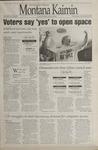 Montana Kaimin, November 8, 1995