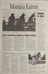 Montana Kaimin, November 17, 1995