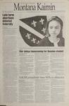 Montana Kaimin, November 29, 1995