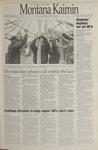 Montana Kaimin, November 30, 1995