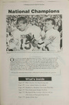 Montana Kaimin: National Champions, January 30, 1996