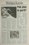 Montana Kaimin, February 29, 1996