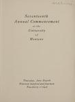 University of Montana Commencement Program, 1914