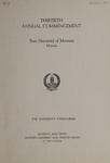 University of Montana Commencement Program, 1927