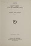 University of Montana Commencement Program, 1945