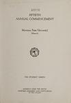 University of Montana Commencement Program, 1947
