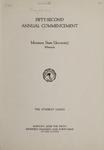 University of Montana Commencement Program, 1949