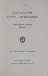 University of Montana Commencement Program, 1964