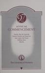 University of Montana Commencement Program, 1994